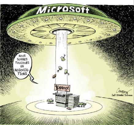 Microsoft Yahoo ?