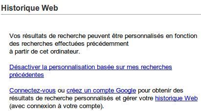 google-historique-web